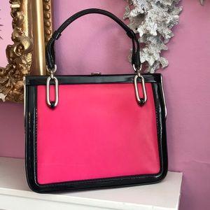 FANTASTIC retro Loewe 1846 bag-pink black, AMAZING